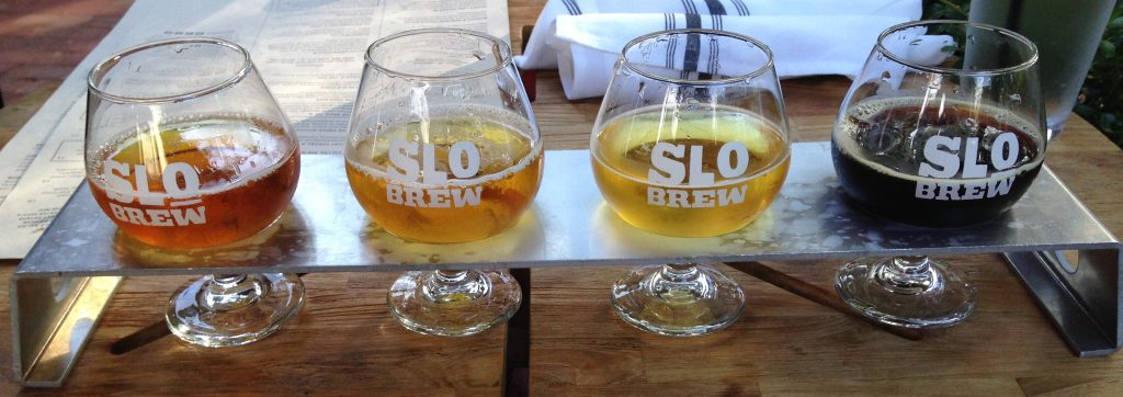 SLO Brew flight