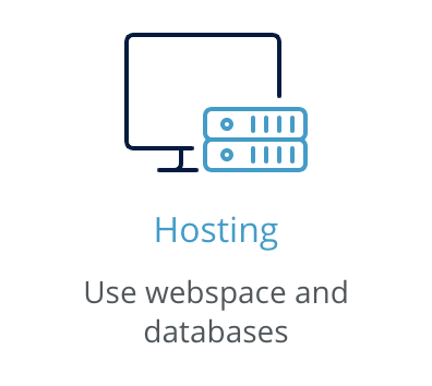 1and1 hosting button
